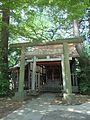 Shrine (神社) in Rokusho Shrine (六所神社) - panoramio.jpg