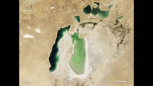 Fail:Shrinking Aral Sea.ogv