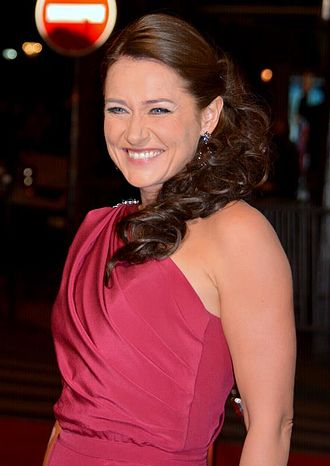 Sidse Babett Knudsen - Knudsen at the César Awards 2016 ceremony.