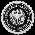 Siegelmarke Bürgermeisteramt Adenau - Kreis Adenau W0246254.jpg