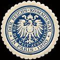 Siegelmarke Der Reichs - Kommissar für die Welt - Ausstellung in Paris 1900 W0213315.jpg