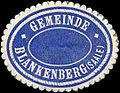 Siegelmarke Gemeinde Blankenberg-Saale W0310754.jpg