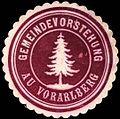 Siegelmarke Gemeindevorstehung Au - Vorarlberg W0261641.jpg