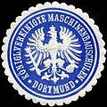 Siegelmarke Königliche Vereinigte Maschinenbauschulen - Dortmund W0225546.jpg