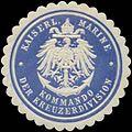 Siegelmarke K. Marine Kommando der Kreuzerdivision W0357563.jpg