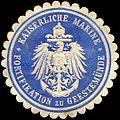 Siegelmarke Kaiserliche Marine - Fortifikation zu Geestemünde W0224089.jpg