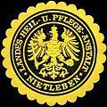 Siegelmarke Landes - Heil - und Pflege - Anstalt - Nietleben W0220436.jpg