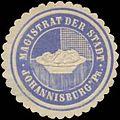 Siegelmarke Magistrat der Stadt Johannisburg Ostpreussen W0369301.jpg