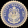 Siegelmarke Reichs - Marine - Amt W0204503.jpg