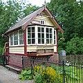 Signal box at Consall Station - geograph.org.uk - 874244.jpg