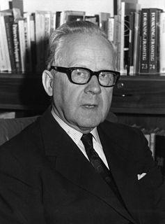Sigvard Eklund Swedish politician