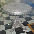 Silver Table in Jaisalmer fort Museum.jpg