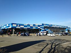 Simferopol International Airport terminal A.JPG