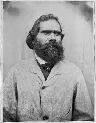 Simon Wonga - Portrait by Carl Walter, 1866