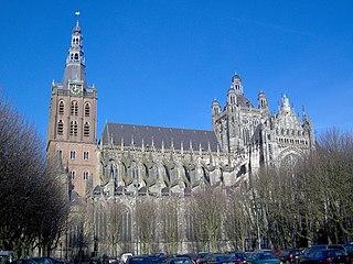 St. Johns Cathedral (s-Hertogenbosch) Church in s-Hertogenbosch, Netherlands