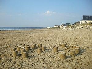 Siouville-Hague - The beach