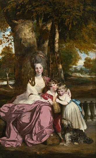 Lady Elizabeth Delmé and Her Children - Image: Sir Joshua Reynolds Lady Elizabeth Delmé and Her Children Google Art Project