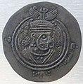 Siria, ziyad abi sufian, drahm arabo-sasanide, 665-672.JPG