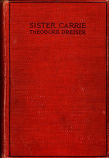 <i>Sister Carrie</i> novel by Theodore Dreiser