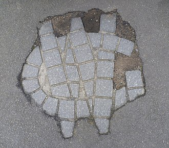 George Wishart - Wishart's initials at the site of his execution