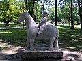 Skulptura u parku Bukovičke Banje u Aranđelovcu 1.jpg