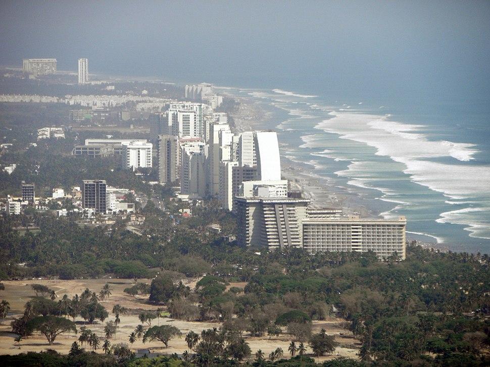 Skyscrapers in Acapulco Diamante