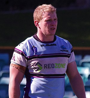 Slade Griffin - Griffin playing for the Storm-Sharks NSW Cup team in 2013.