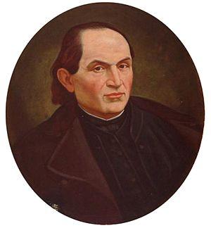 Andrej Sládkovič - Portrait by Jozef Božetech Klemens
