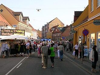 Holbæk - A street market