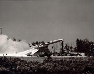 SM-62 Snark - Snark missile launch