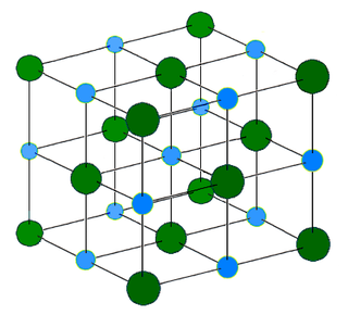 Ionic crystal crystalline ionic compound