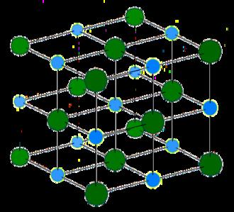 Silver bromide - Rock-salt structure