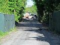 Somerville Community Path construction east of Cedar Street, May 2012.JPG