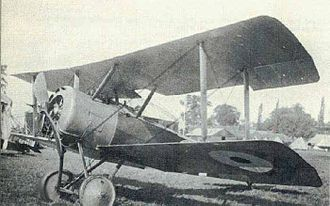 Sopwith Pup - Pup with 100 hp Gnome Monosoupape engine