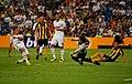 Sosa atajando tiro de Ronaldo.jpg