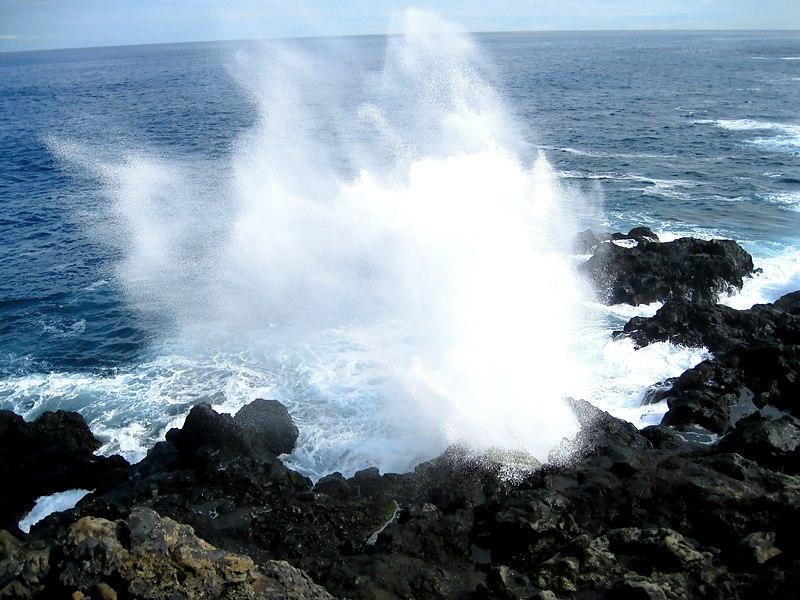 Quoi voir à l'île de la Réunion - le Souffleur à Saint-Leu