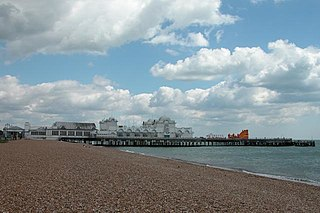 Southsea town in Hampshire, England