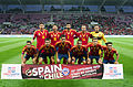Spain - Chile - 10-09-2013 - Geneva - Spain team 1.jpg