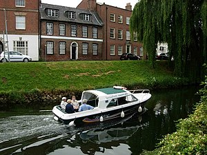 Spalding, Lincolnshire - Water taxi