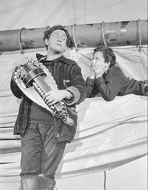 Captains Courageous (1937 film) - Spencer Tracy and Freddie Bartholomew