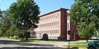 Alliance, Nebraska - Historic St. Agnes Academy is the local Catholic school.