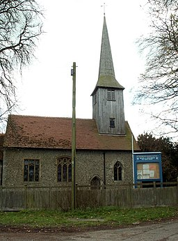 St. Andrew's church, Good Easter, Essex - geograph.org.uk - 153806.jpg
