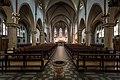 St. Antonius Kirche, Gronau, interior, center aisle.jpg