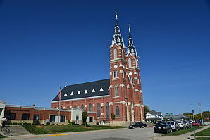 Basilica of St. Francis Xavier in Dyersville