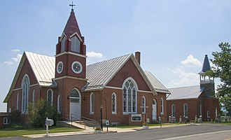Creagerstown, Maryland - Image: St. Johns Church, Creagerstown, Maryland