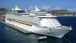 MS Adventure of the Seas - Image: St. Kitts Adventure of the Seas (8739105455)