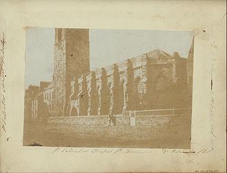 University of St Andrews - St Salvator's Chapel in 1843