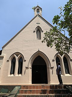 St. Thomas Church, Colombo Church in Ginthupitiya, Colombo Sri Lanka