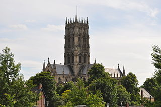 Doncaster Town in South Yorkshire, England