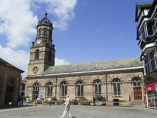 St Giles Church, Pontefract Church in West Yorkshire, England